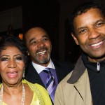 Aretha: Celebrates 72nd B'day with Denzel; Working with Babyface, Andre 3000