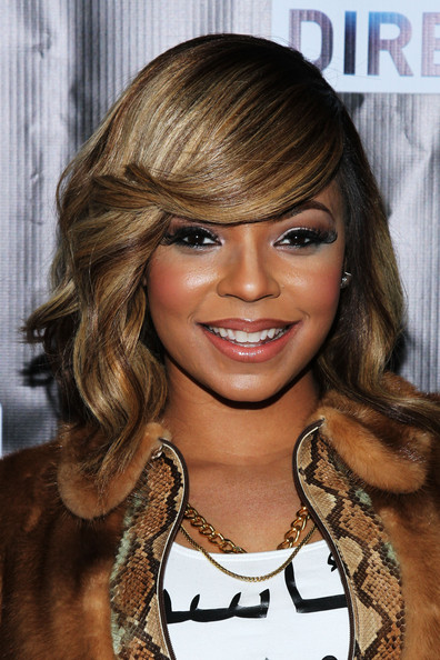 Ashanti attends the DirecTV Super Saturday Night at Pier 40 on February 1, 2014 in New York City
