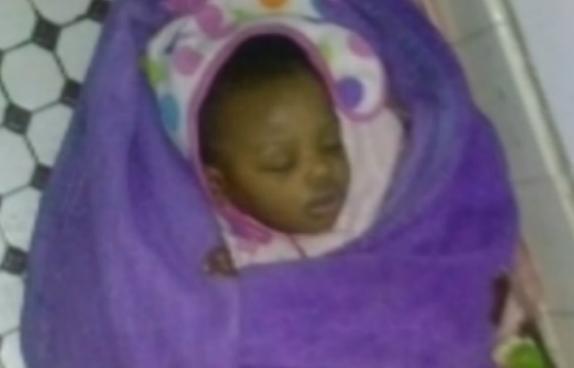 baby girl - abandoned - chicago