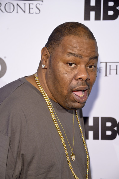 Rapper Biz Markie arrives at the HBO Game of Thrones Catch the Throne NBA All-Star Event at Republic on February 16, 2014 in New Orleans, Louisiana