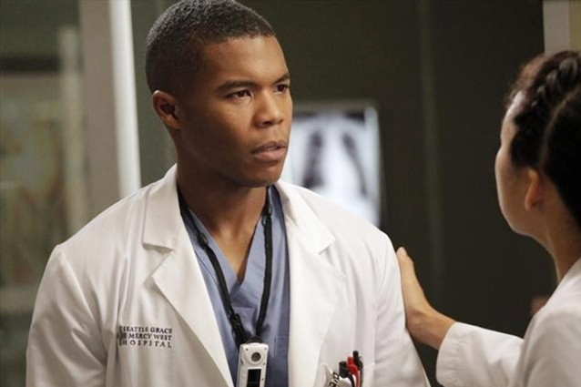 "Gaius Charles as Dr. Shane Ross on ""Grey's Anatomy"""