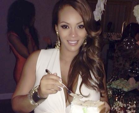 evelyn lozada - pregnant - cake1