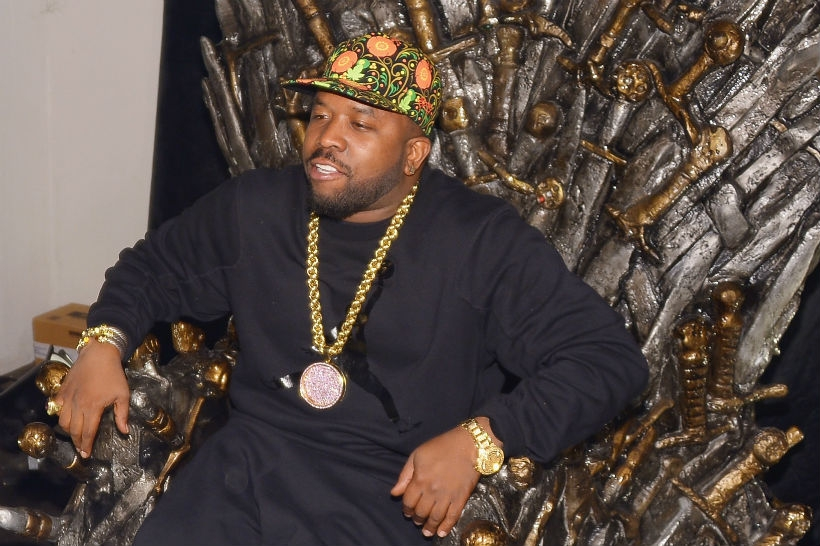Big Boi at HBO's Catch The Throne All Star Weekend Event, February 16, 2014 in New Orleans, Louisiana