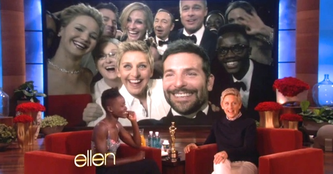 lupita on ellen post oscar