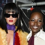 Lupita Nyong'o Encounters Rihanna at Paris Fashion Week (Pics)