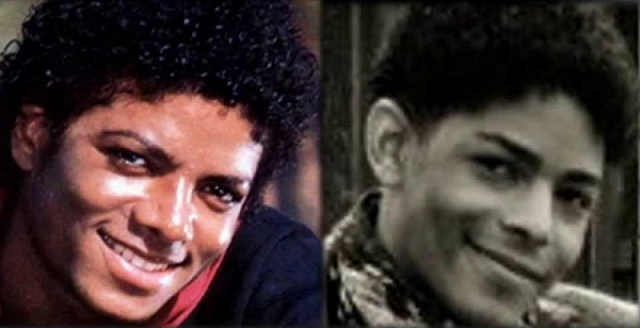 Michael Jackson (L), Brandon Howard (R)