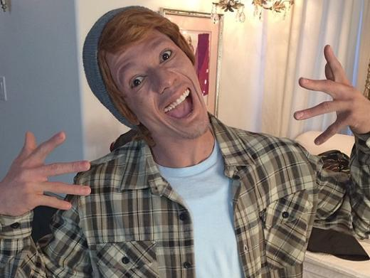 nick cannon whiteface1