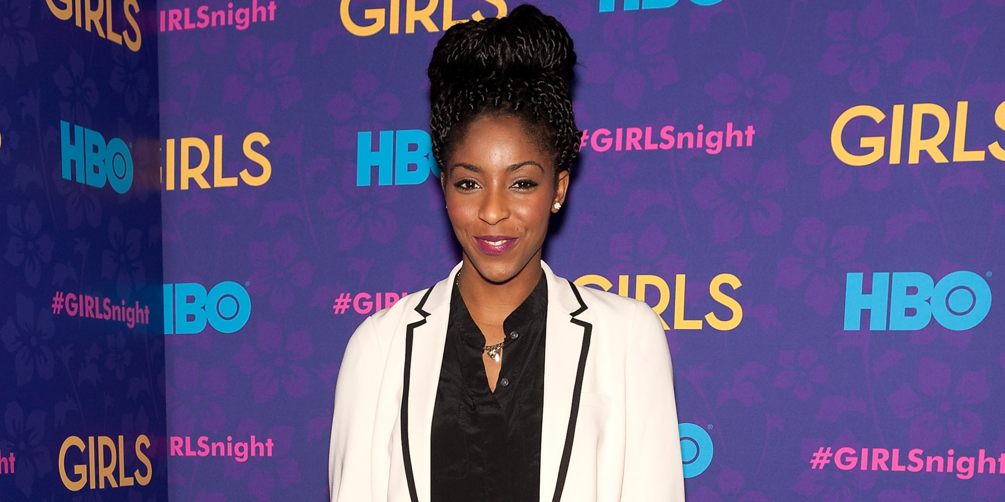 """Jessica Williams attends the """"Girls"""" season three premiere at Jazz at Lincoln Center on January 6, 2014 in New York City."""