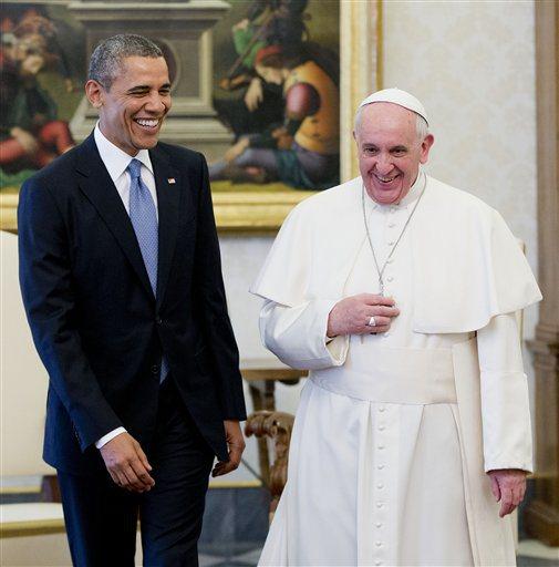 Barack Obama, Pope Francis