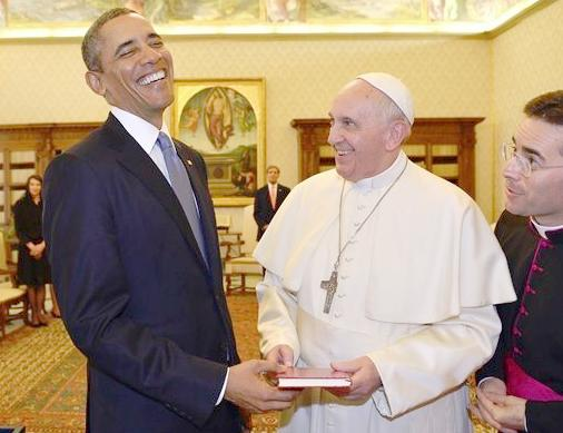 obama & the pope2