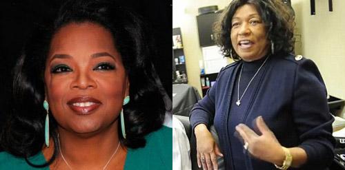 oprah & barbara winfrey