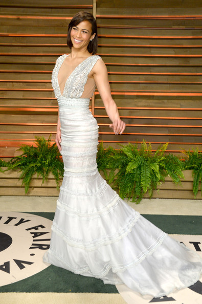 Actress Paula Patton attends the 2014 Vanity Fair Oscar Party hosted by Graydon Carter on March 2, 2014 in West Hollywood, California