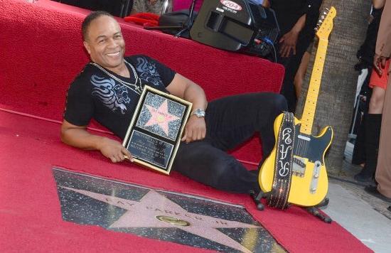 ray parker jr - hollywood star