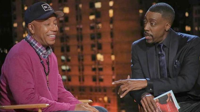 russell simmons & arsenio hall