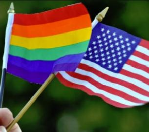 same sex flags (gay pride)