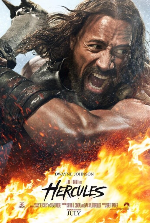the rock - hercules-poster
