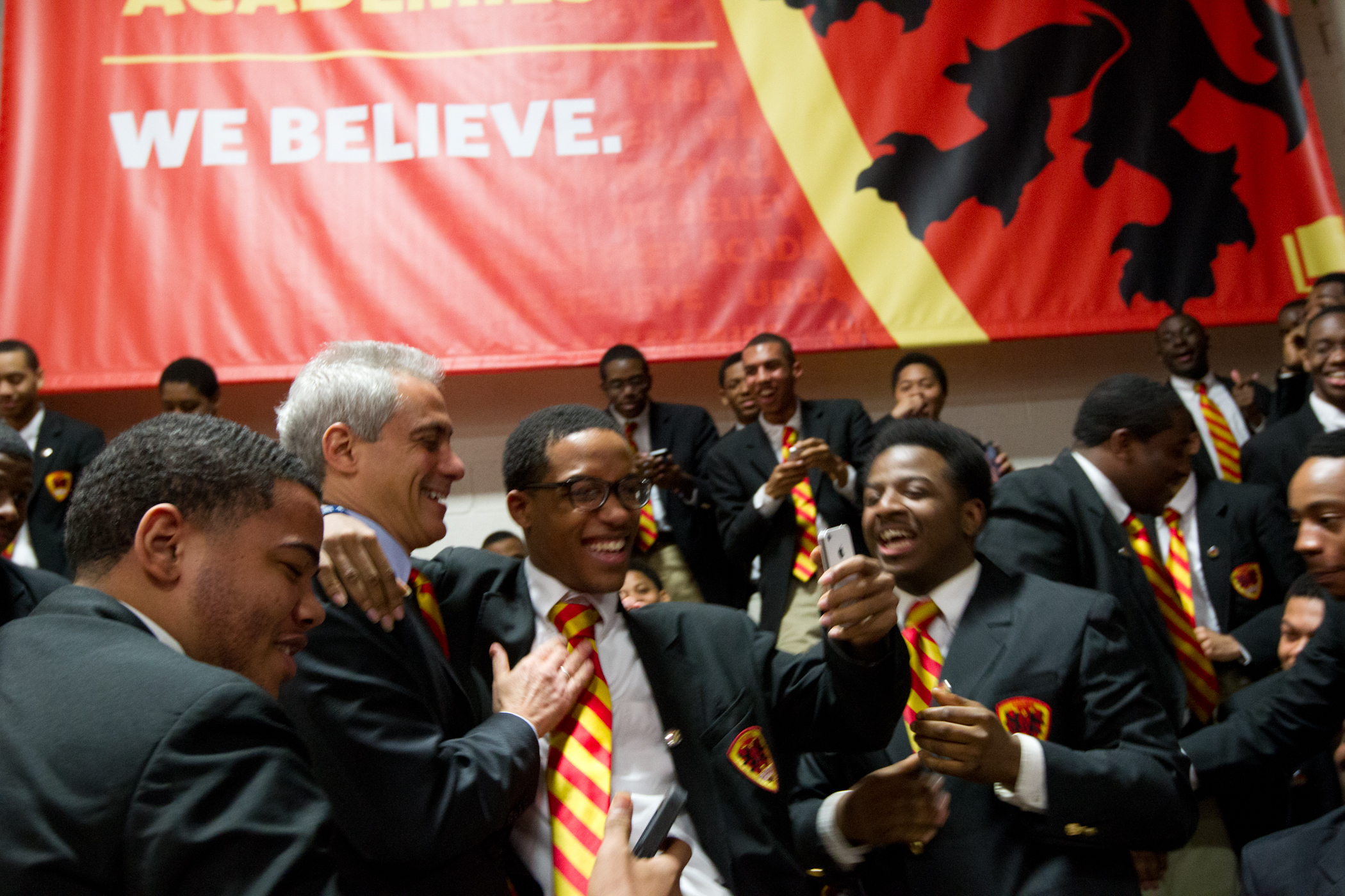 Mayor Emanuel Congratulates Urban Prep Academy Class of 2014