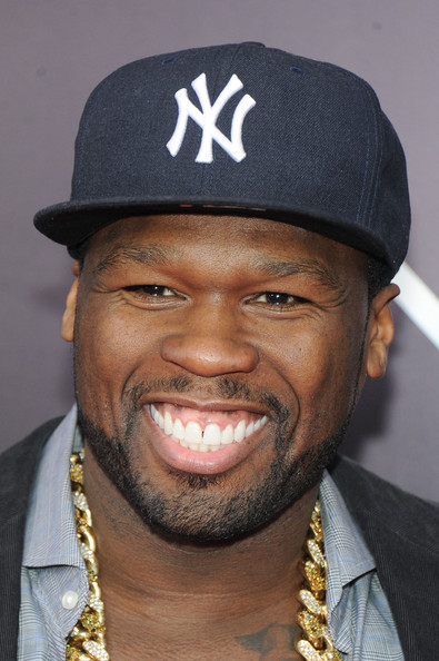 50 Cent attends the 'Noah' New York premiere at Ziegfeld Theatre on March 26, 2014 in New York City