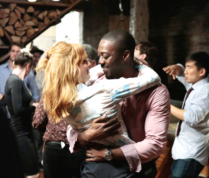 "Kelly Reilly and David Ajala in ABC's ""Black Box"""