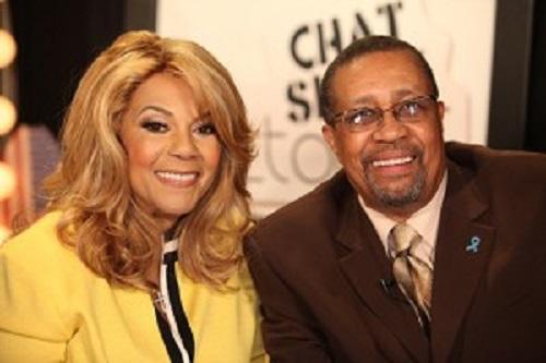 Claudeete Robinson and Ron Brewington