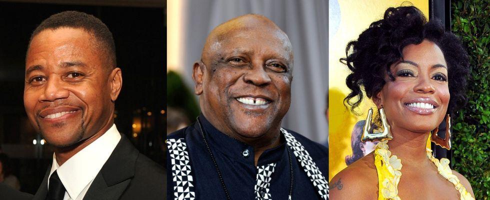 Cuba Gooding Jr., Louis Gossett Jr. and Aunjanue Ellis