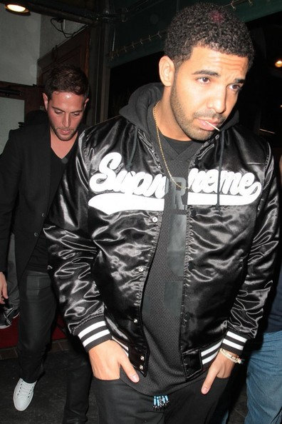 Drake dines out at Madeo restaurant in West Hollywood, California on April 17, 2014