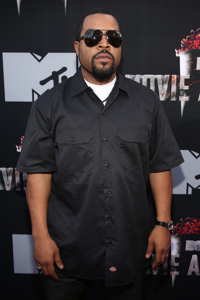 Actor/rapper Ice Cube attends the 2014 MTV Movie Awards at Nokia Theatre L.A. Live on April 13, 2014 in Los Angeles, California