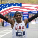 Meb Keflezighi Stuns As Boston Marathon Winner: Dedicates Win to Victims of 2013 Double Bombing