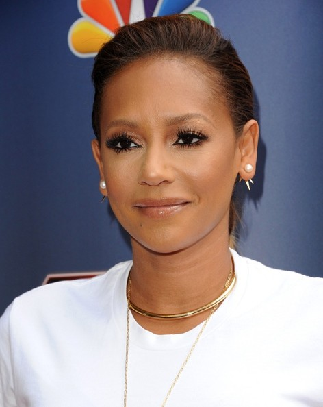 """Melanie """"Mel B"""" Brown at the 'America's Got Talent' event at the Dolby Theatre in Hollywood. (April 22, 2014)"""