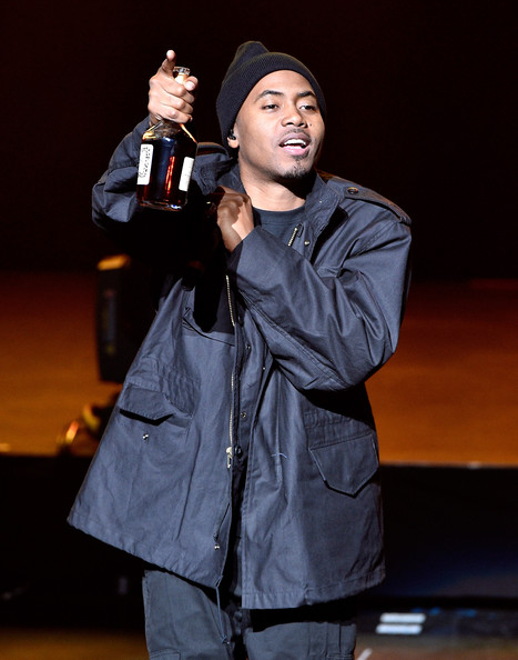 Rapper Nas performs onstage at the Opening Night Concert during the 2014 Tribeca Film Festival at The Beacon Theatre on April 16, 2014 in New York City. (The event was sponsored by Hennessy)