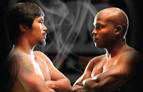 Pacquiao & Bradley - poster pic