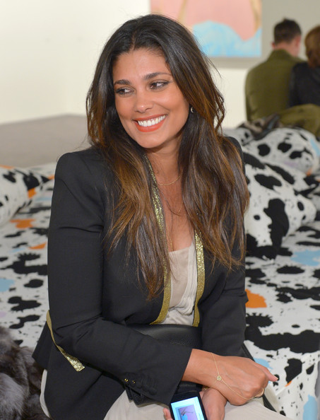 Designer Rachel Roy attends Diane Von Furstenberg's Journey of A Dress Exhibition Opening Celebration at May Company Building at LACMA West on January 10, 2014 in Los Angeles, California