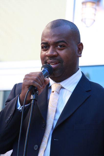 Newark, New Jersey 2014 Mayoral candidate Ras Baraka