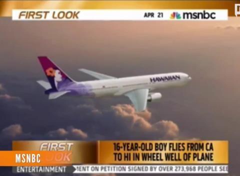 Teen-Survives-California-Hawaii-Flight-In-Plane