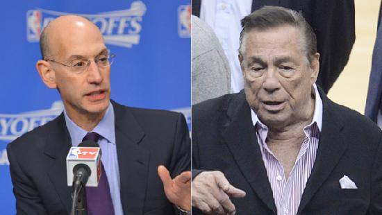 adam silver & donald sterling