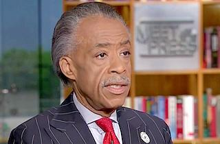 al sharpton - meet the press - sterling