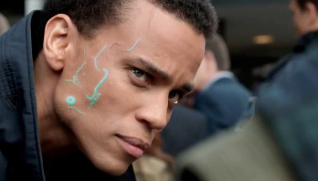 "Michael Ealy in FOX's ""Almost Human"""