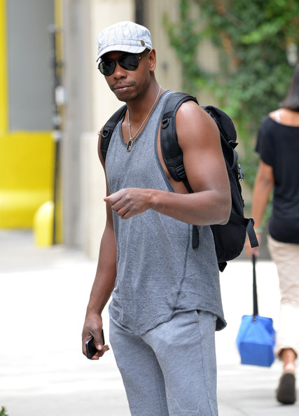 Dave Chappelle seen out and about in SoHo, New York City. (September 9, 2013)