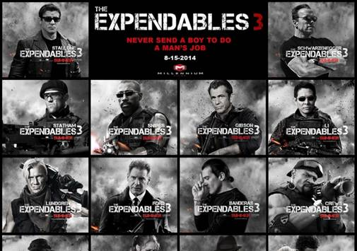 the expendables 3,