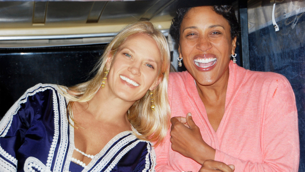 Robin Roberts and Amber