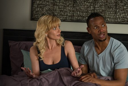 "Jamie Pressly and Marlon Wayans in ""A Haunted House 2"""