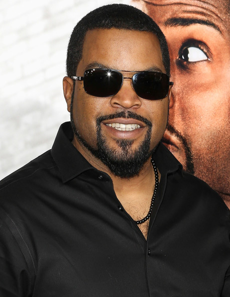 ice cube at ride along premiere