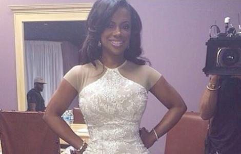 kandi burrus - wedding dress?