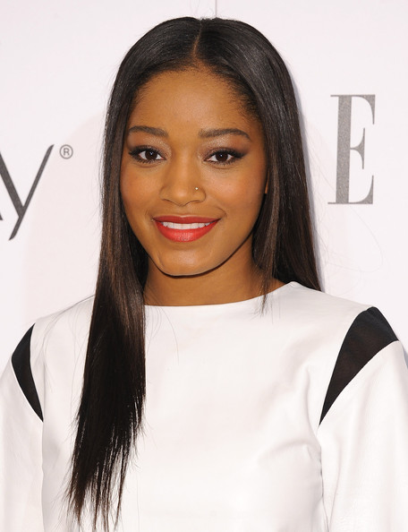 Actress Keke Palmer attends ELLE's Annual Women in Television Celebration at Sunset Tower on January 22, 2014 in West Hollywood, California