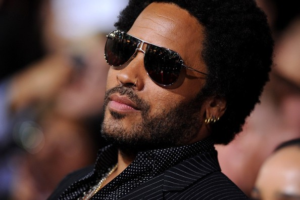 Lenny Kravitz at 'The Hunger Games: Catching Fire' premiere in Los Angeles at the Nokia Theatre on November 18, 2013.