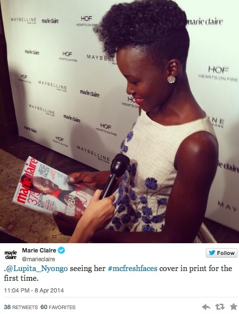 lupita marie claire event
