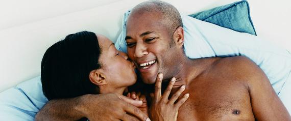 mature black couple
