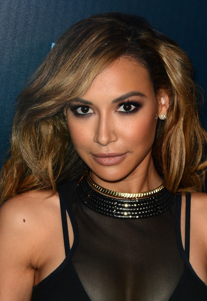 Actress Naya Rivera attends Fox's 'GLEE' 100th Episode Celebration held at Chateau Marmont on March 18, 2014 in Los Angeles, California