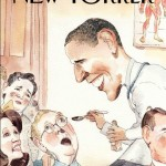 New Yorker Cover: Dr. Obama Spoon Feeds his GOP Haters