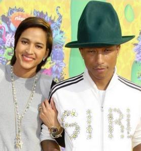 pharrell & wife helen